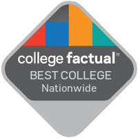 College Factual ranking badge